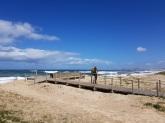 007 Strand und ich vor Vila do Conde