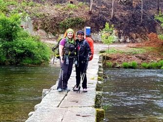 007 Tanja und ich auf der Steinbrücke