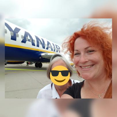 Abflug in Memmingen