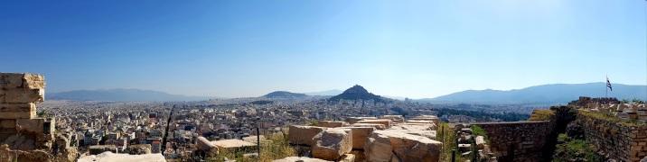 Akropolis Ausblick