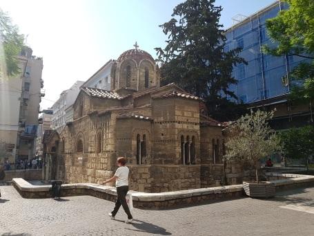 Kapnikarea Kirche aussen