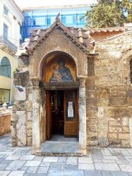 Kapnikarea Kirche Türe