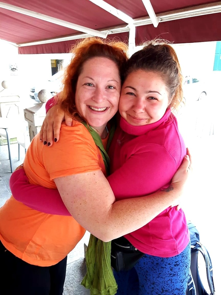 07 lovley Anna and me - 2 Diabetic sisters
