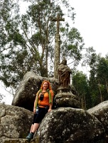 09 Santiaguino do Monte mit Julia