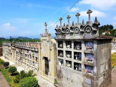10 Friedhof von San Miguel de Valga