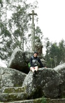 10 Santiaguino do Monte mit Tanja