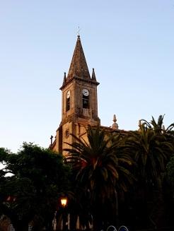 12 Kirche de San Tomé Becket am Abend